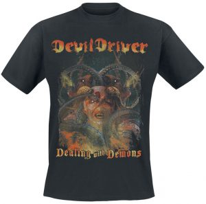 dealing with demons devildriver t shirt