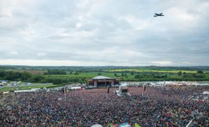 iron maiden at download festival