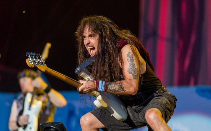 close up - steve harris - download festival