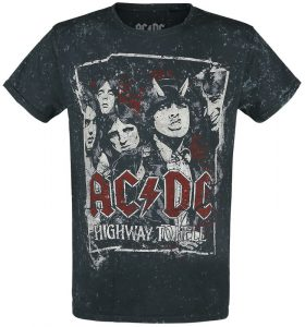 highway to hell tour 79 ac dc t shirt