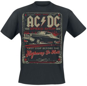 highway to hell speedshop t shirt