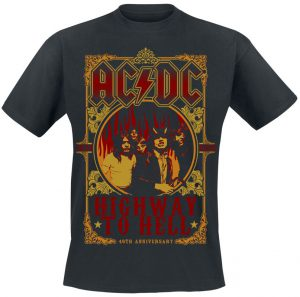 ac dc highway to hell t shirt