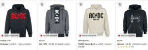 ac dc hoodies and sweatshirts