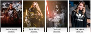 fan merch and alternative fashion