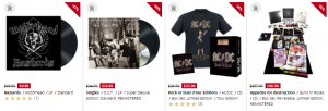 emp winter sale items albums and cds