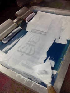 screen print for lacuna coil t shirt