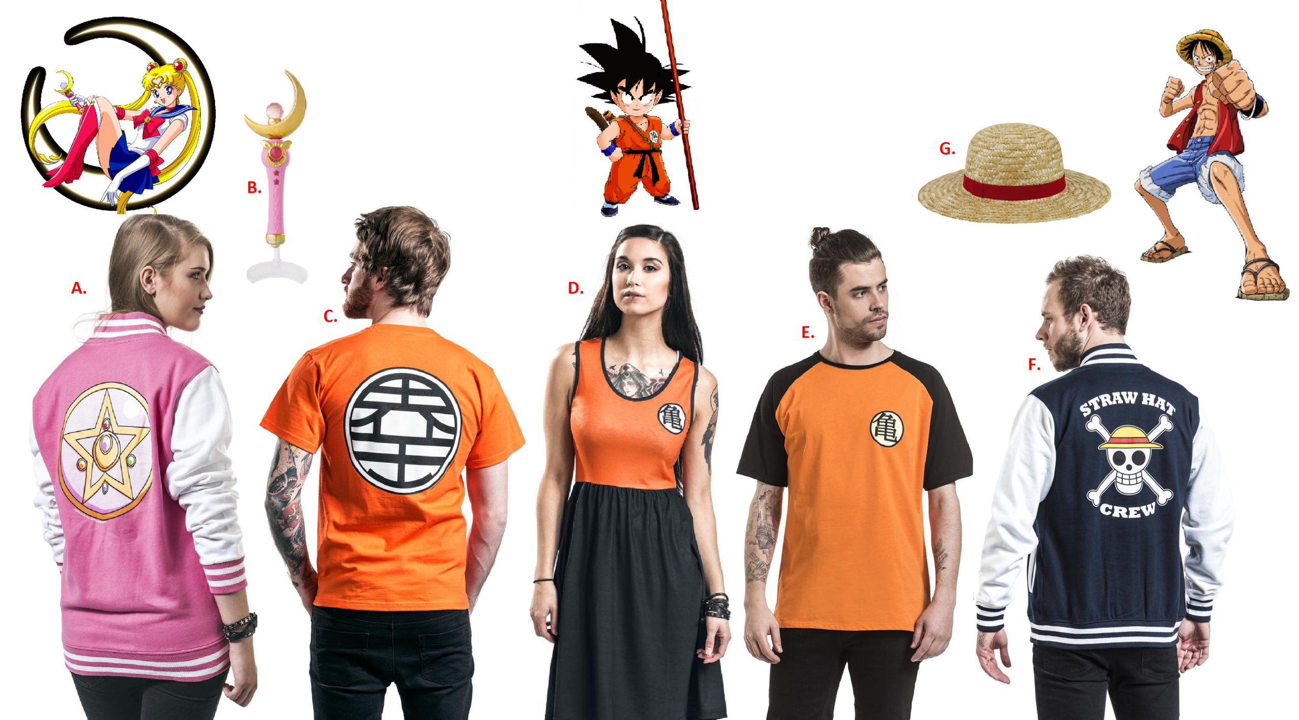 dragon-ball cosplay