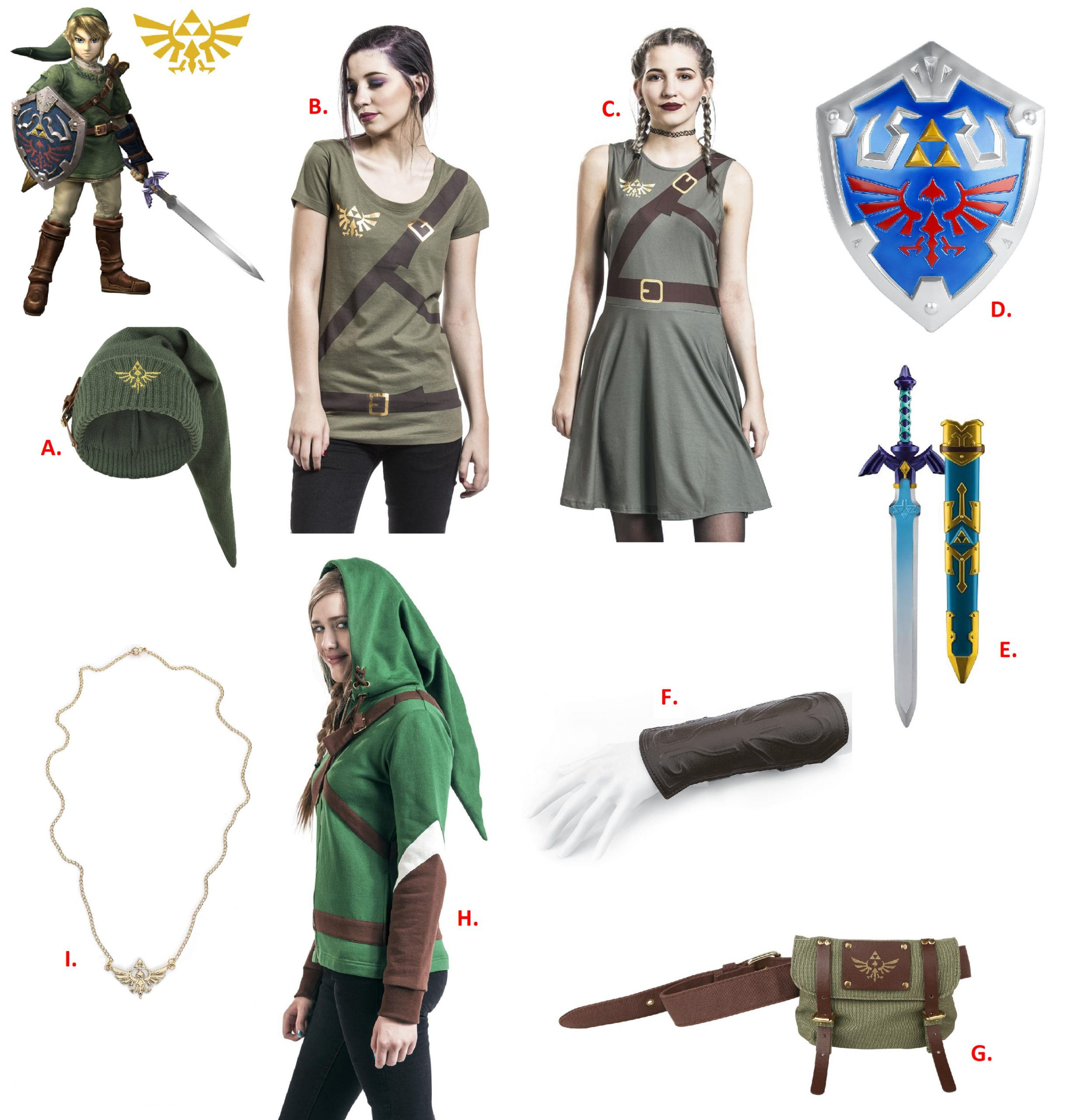 zelda cosplay ideas