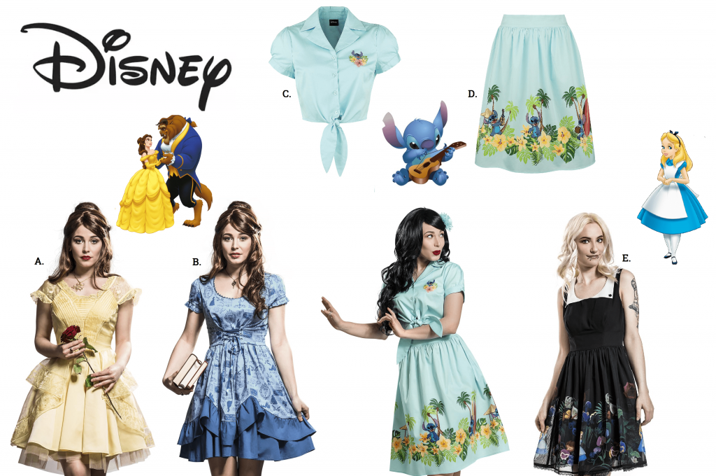 disney womens clothing at emp