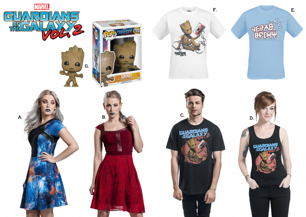 guardians of the galaxy merchandise emp blog