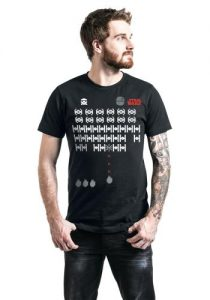 star wars retro gaming t shirt
