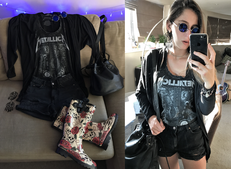 rock festival outfit ideas at emp