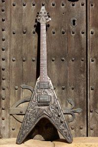 emp custom viking v guitar