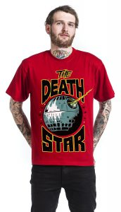 death star destruction tour tshirt