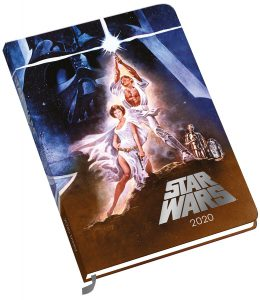star wars 2020 calendar notebook