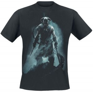 v skyrim dragonborn t shirt