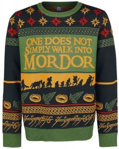 LOTR christmas jumper