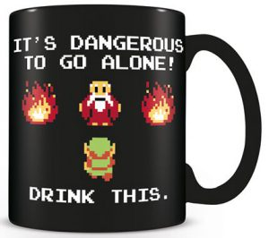zelda drink this mug