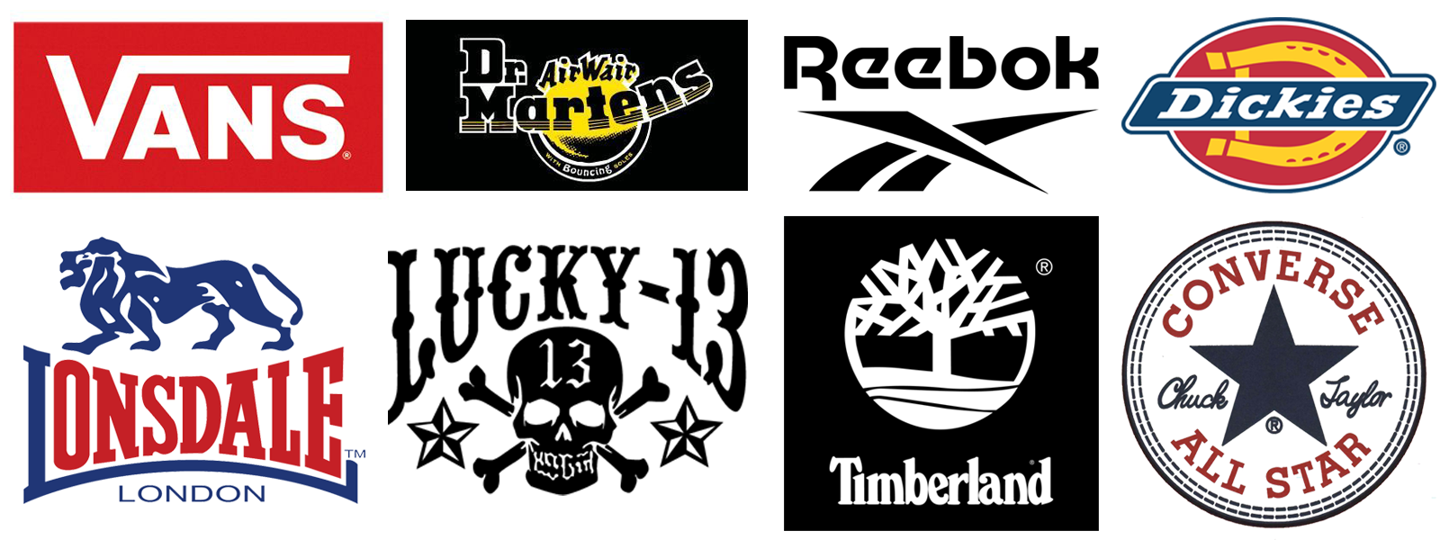 clothing brand logos