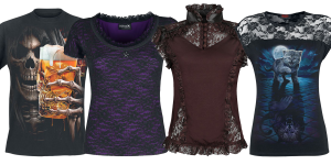 gothic t shirts
